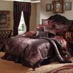 Basilia California King Comforter Set Plum