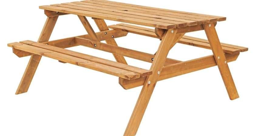 Batam Timber Picnic Bench Departments Diy