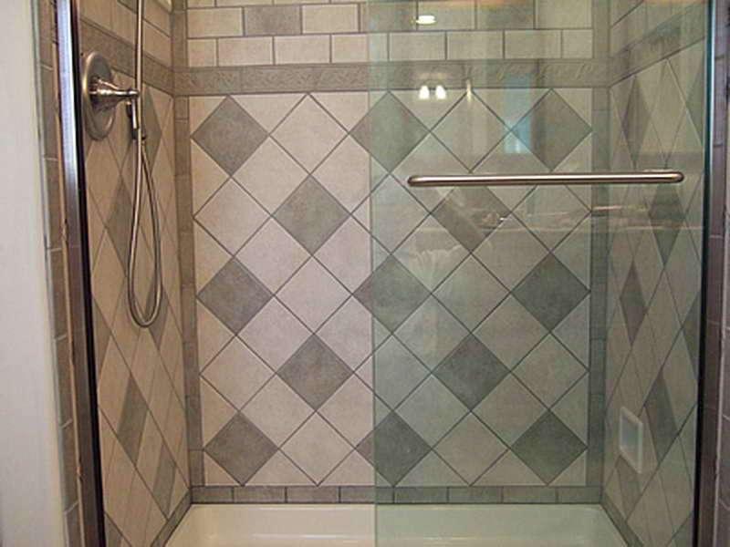 Bath Wall Tile Designs Big Mozaic Design