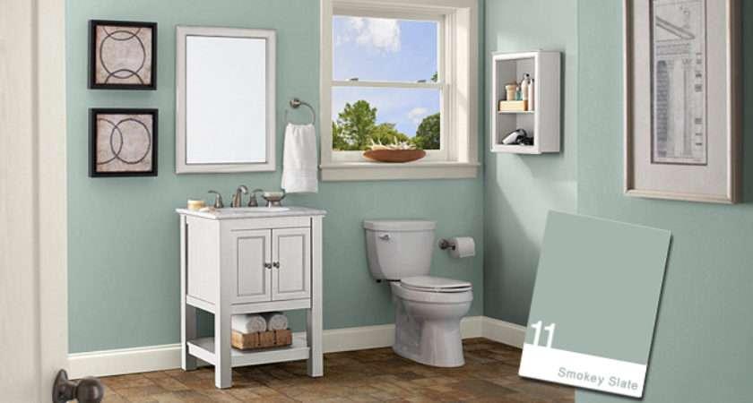 Bathroom Color Ideas Green House Style