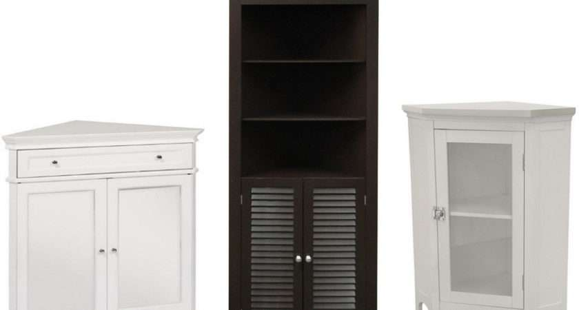 Bathroom Corner Storage Cabinets Choozone. Simple Black Bathroom Cabinets And Storage Units Placement