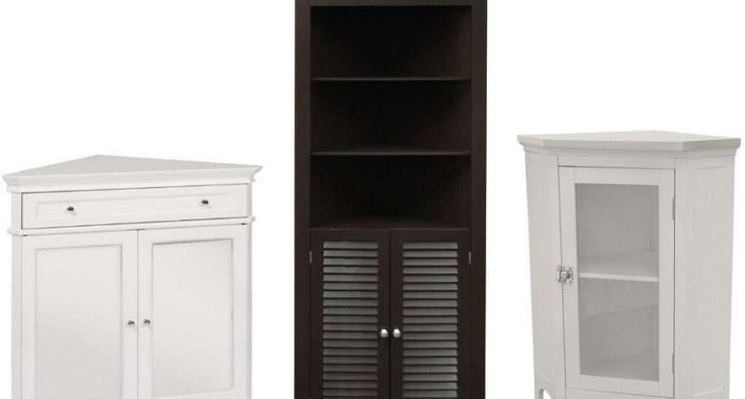 Bathroom Corner Storage Cabinets Choozone. Simple Black Bathroom Cabinets And Storage Units Placement