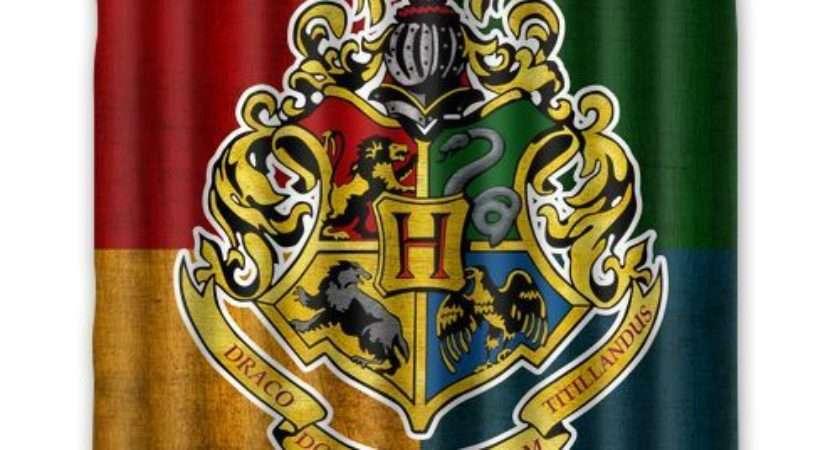 Bathroom Decor Inch Harry Potter Hogwarts Logo