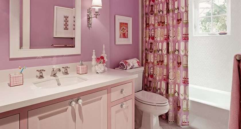 Bathroom Designs Fabulous Pink Ideas Girls