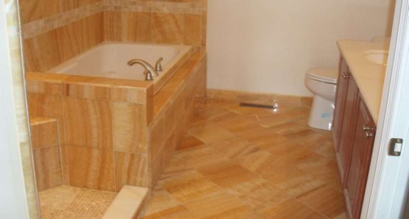 Bathroom Flooring Tiles Designs