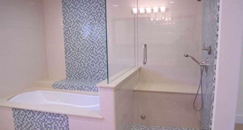 Bathroom Glass Mosaic Tile Patterns Walls