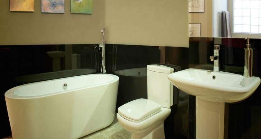 Bathroom Glass Splashbacks Ideas