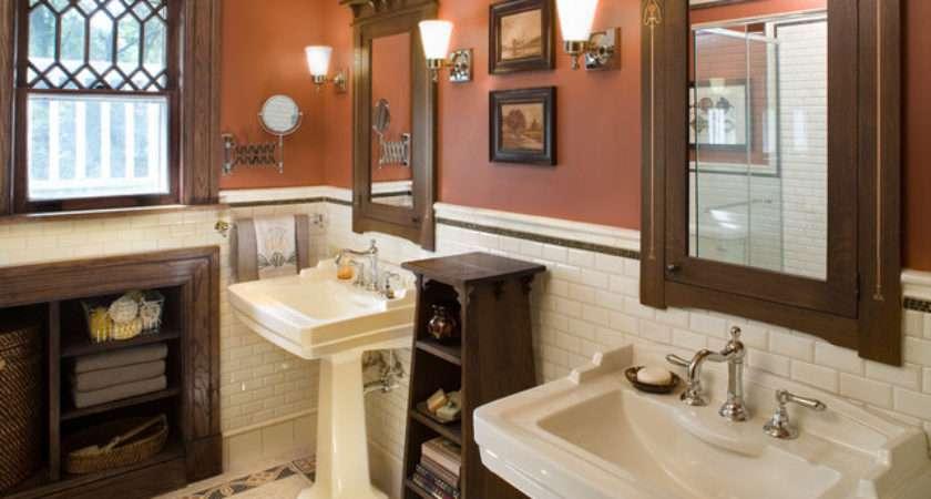 Bathroom Hill House Craftsman New York