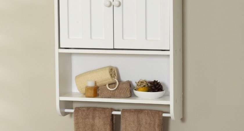 Bathroom Ideas White Polished Wood Storage