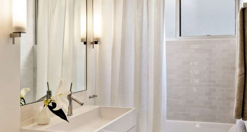 Bathroom Installing Curtain Ideas Prettier