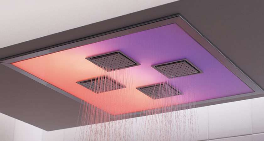 Bathroom Kohler New Shower Mood Lighting Touchscreen