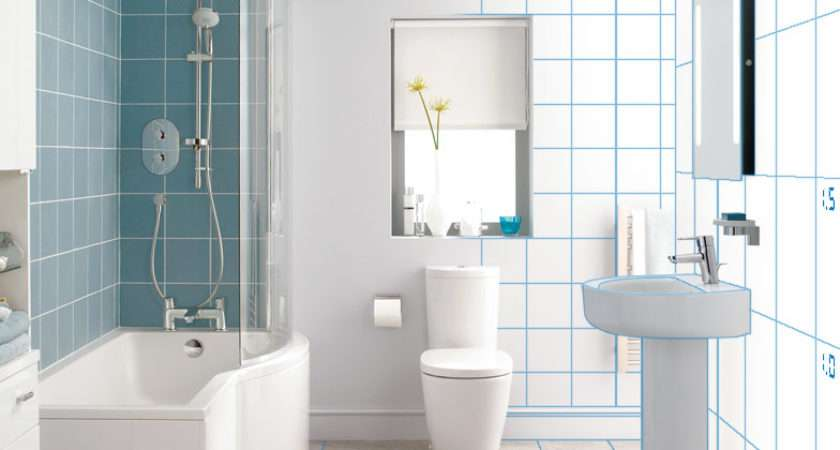 Bathroom Layout Architectural Visualisation Small Design