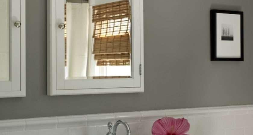 Bathroom Light Gray Walls White Trim Ideas