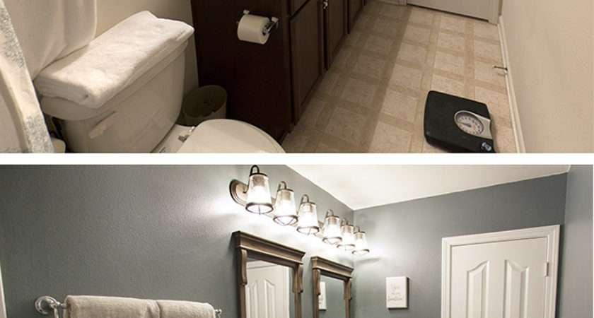 Bathroom Makeover Budget Home Depot Blog