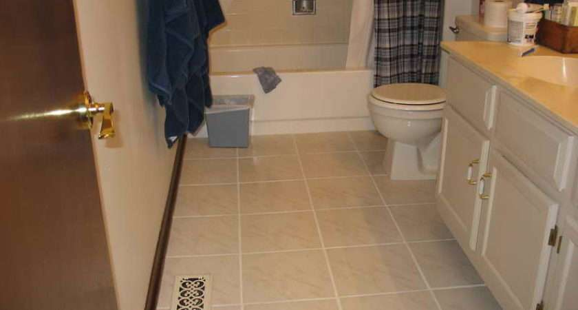 Bathroom Small Floor Tile Ideas