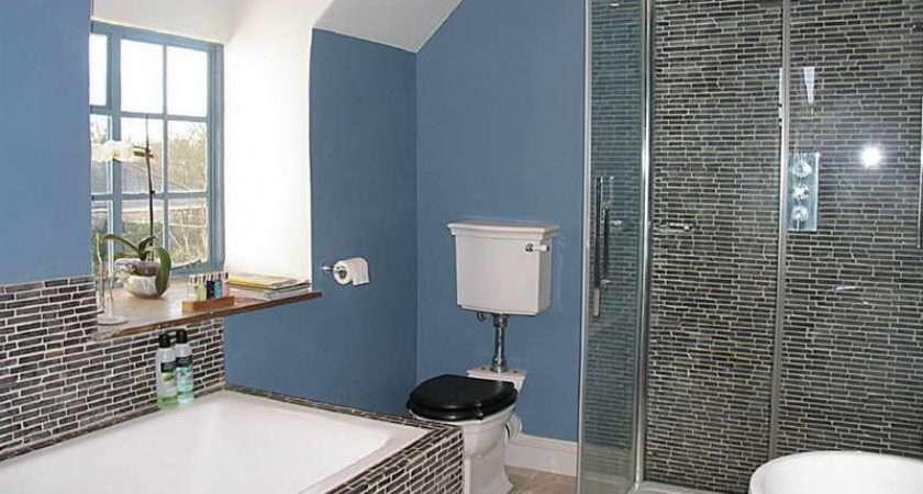 Bathroom Tile Blue Wall Types Unique
