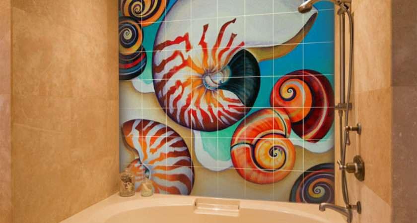 Bathroom Tile Murals Pacifica Art Studio