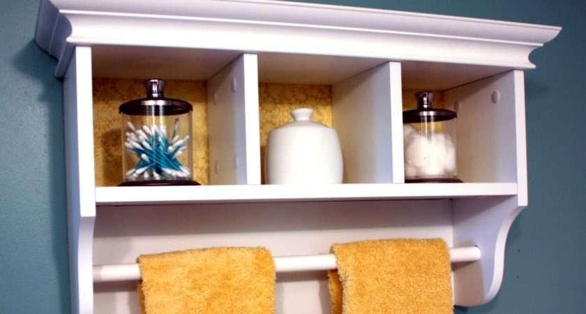 Bathroom Towel Bars White Shelves Shelf