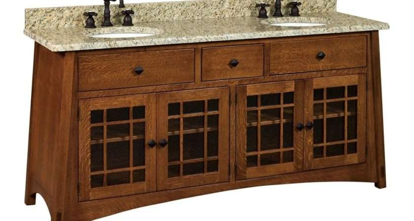 Bathroom Vanity Standing Sink Cabinet Granite Top Wood Ebay