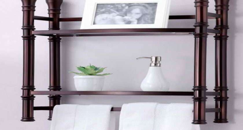 Bathroom Wall Shelf Designs Ideas Towels