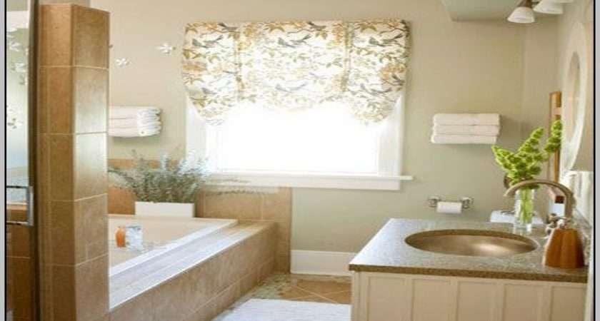 Bathroom Window Curtain Pair Curtains Home Design Ideas