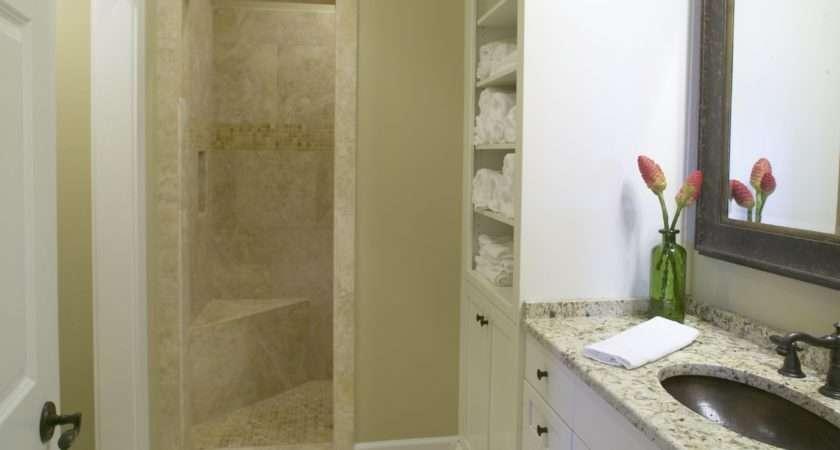 Bathrooms Decorating Small Bathroom Walk Shower Bath Ideas