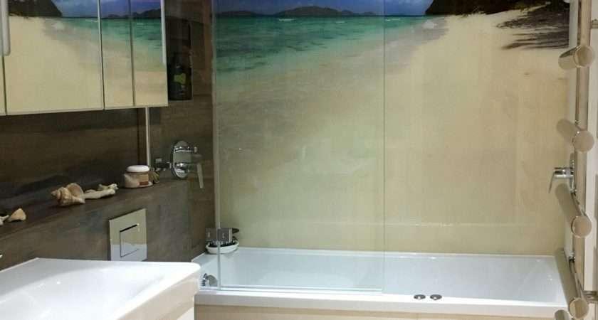 Bathrooms Glass Shower Walls Splashbacks