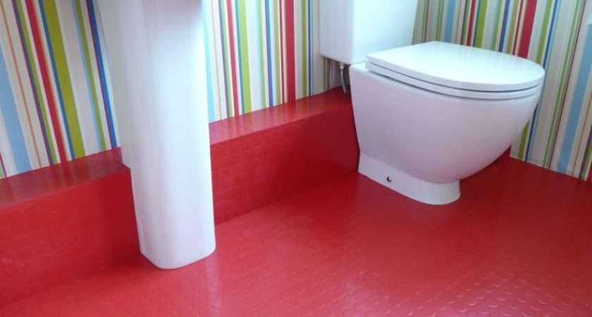 Bathrooms Rubber Flooring