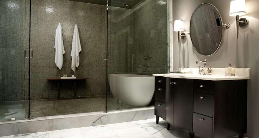 Bathtub Shower Contemporary Bathroom Nest Interior Design