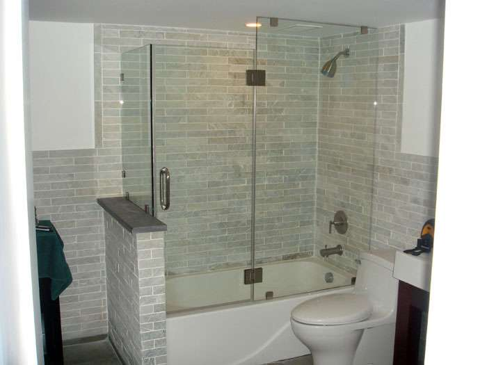 best one piece tub shower unit. Breathtaking Glass Enclosed Tub Shower Combo Photos  Best