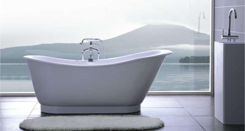 Bathtubs Solid Surface Armada Luxury Modern Bathtub Tweet