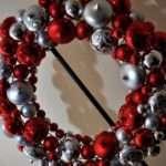 Bauble Wreath Xmas Pins Christmas Pinterest