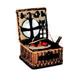 Baxter Person Picnic Basket Part Pppsb