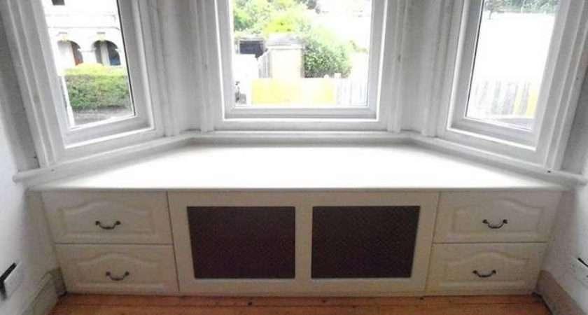 Bay Window Bench Diy Build Seat Drawers