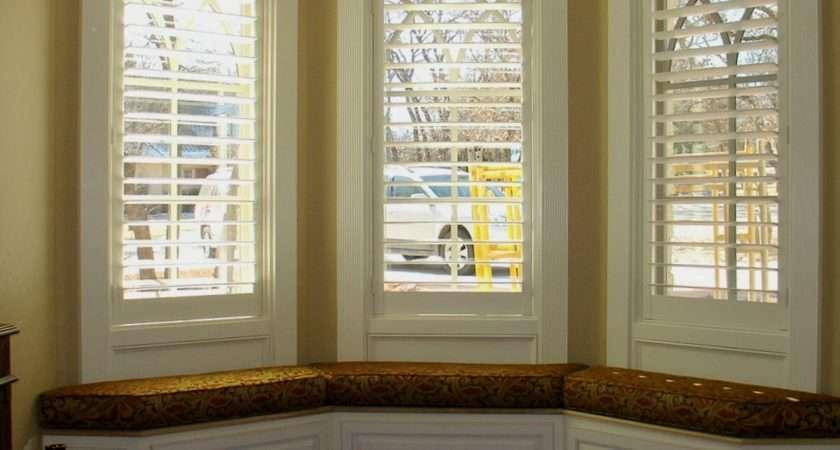 Bay Window Curtain Blind Ideas Menzilperde