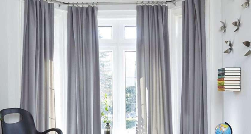 Bay Window Curtain Rod Rods Hardware