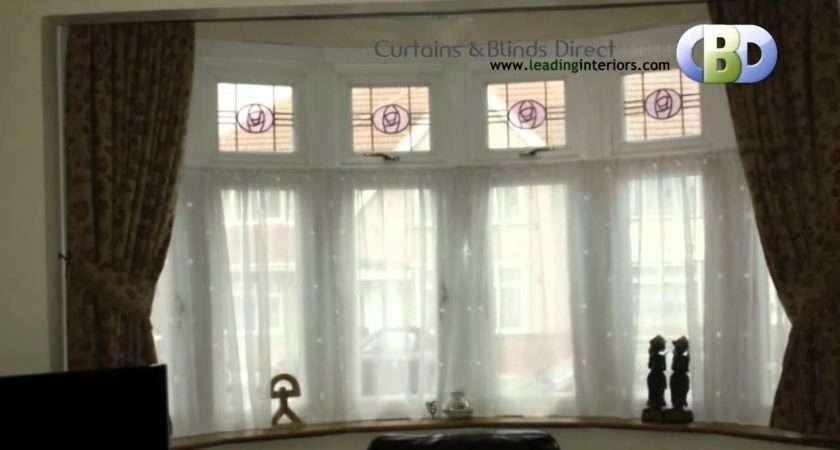 Bay Window Curtains Leadinginteriors Youtube