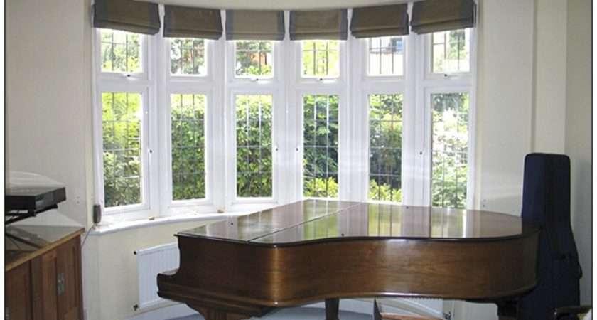 Bay Window Treatments Home Decorating Ideas