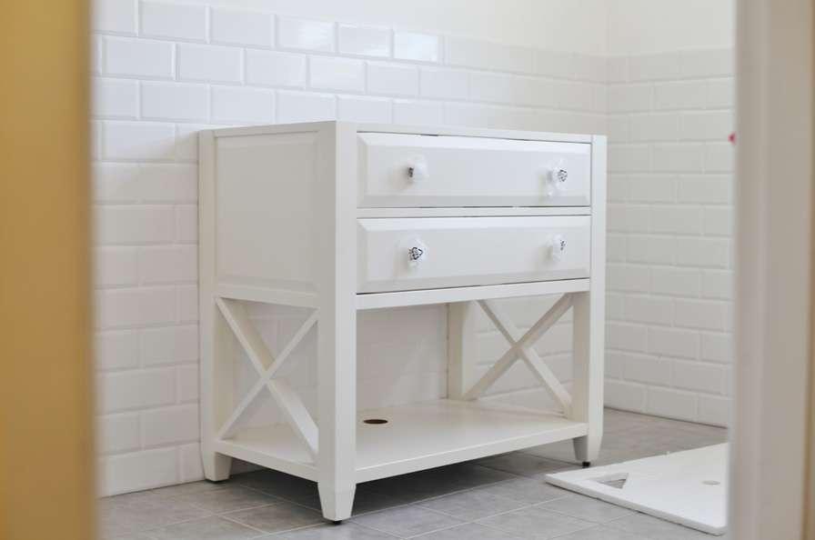 Beach Cottage Coastal Bathroom Vanity