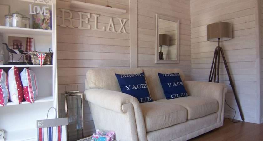 Beach Hut Cabin Dreamwall Style Blog