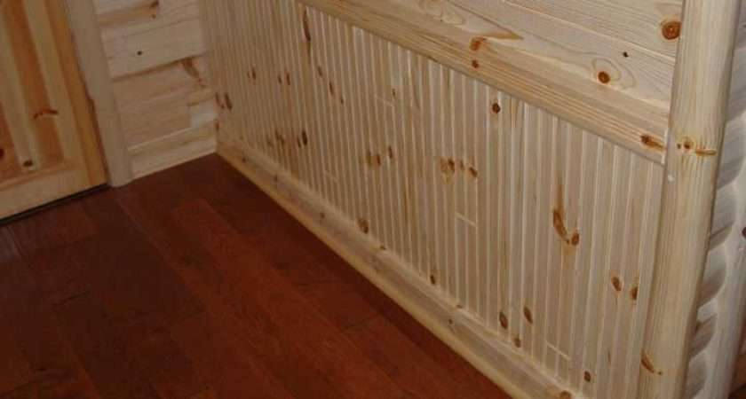 Beadboard Pine Paneling Wainscoting Beaded Chair Rail