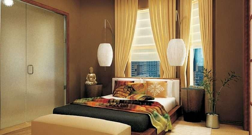 Beautiful Asian Themed Bedroom Smart Lighting