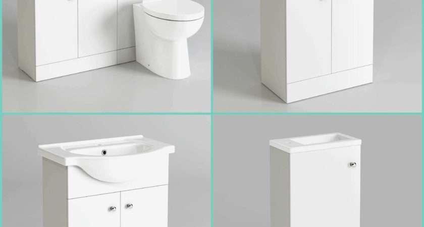 Beautiful Bathroom Cabinets Blanc Standing