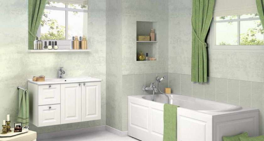 Beautiful Bathroom Window Curtains Idea Cream