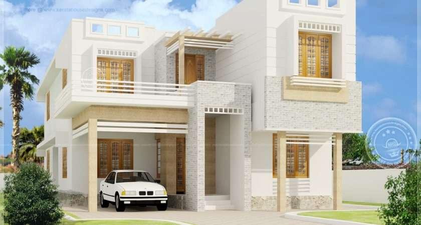 Beautiful Bedroom House Exterior Elevation Kerala Home Design