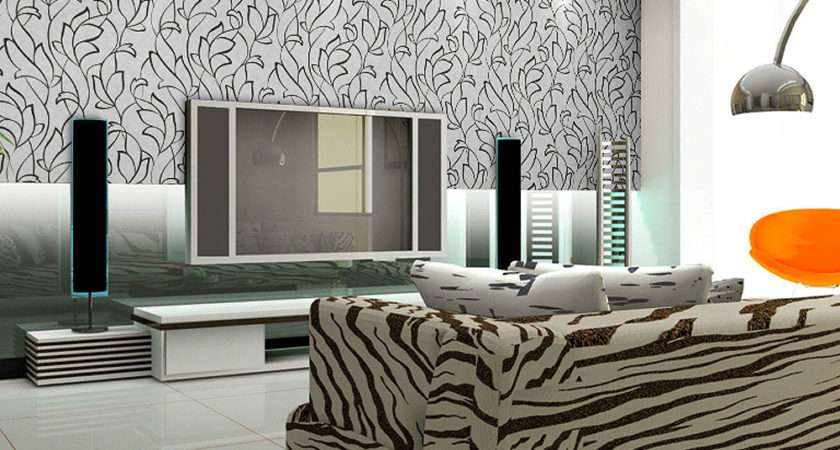Beautiful Black White Patterned Home