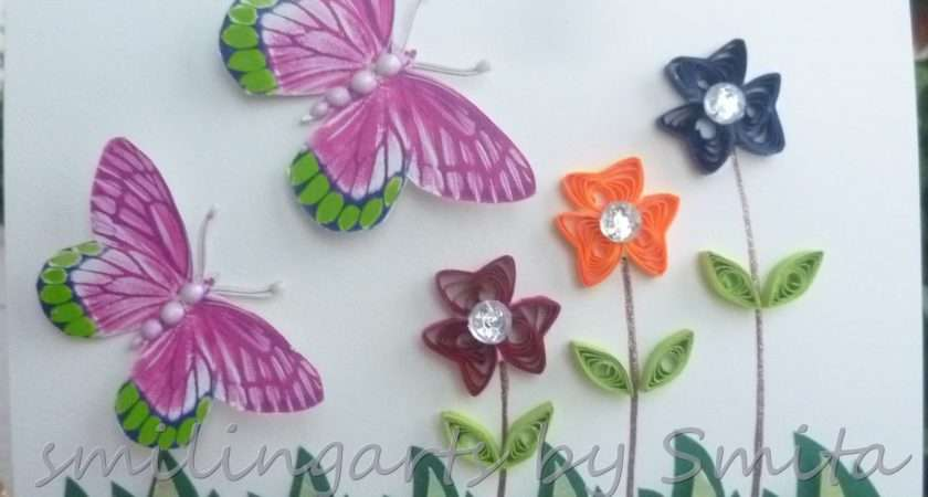 Beautiful Butterfly Paper Quilling Designs Creative Art Craft Work