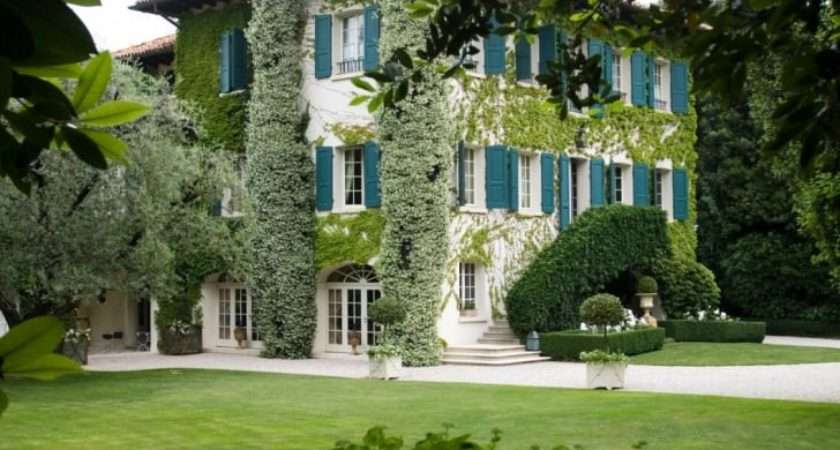 Beautiful Country House Landscape Gardens