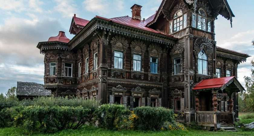 Beautiful Country House Russia Unusual Places