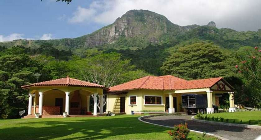 Beautiful Country Mountain Houses Most